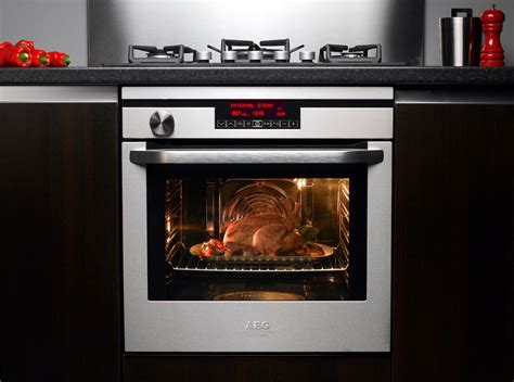 Oven Gas Electrolux cooking with steam more efficient better results