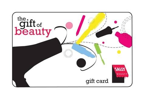 Beauty Salon Gift Cards - sally beauty salon gift card crafty ideas pinterest