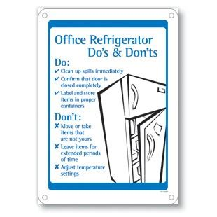 Office Pantry Etiquette by Office Refrigerator Do S Don Ts Office Etiquette