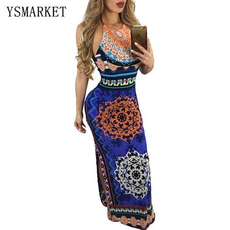 Dress Maxi Dress 27419 Blue White Summer Totem S M L Dress buy wholesale dresses from china dresses wholesalers