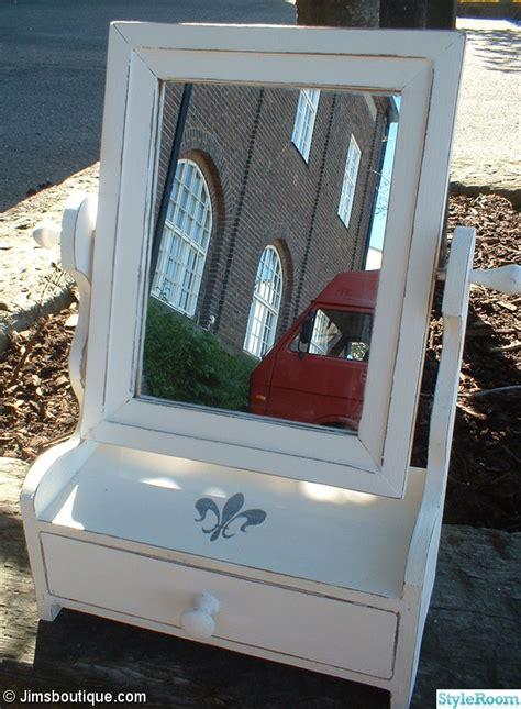 lada shabby chic liten spegel med l 229 da hemma hos jimm