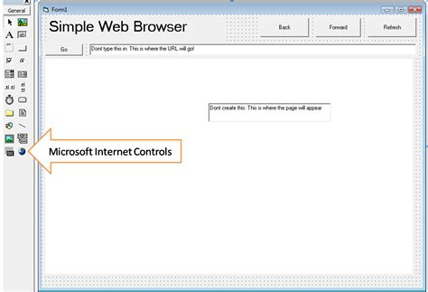 tutorial vb net website create a simple web browser visual basic tutorials