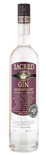 Handcrafted Gin - sacred gin reviews and ratings proof66 gin