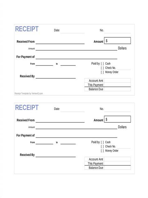 receipt sample 3 sample receipts sample receipt template microsoft