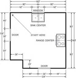 How To Measure Floor Plans by Plan Your Space For The Best Kitchen Cabinets Choice Cabinet