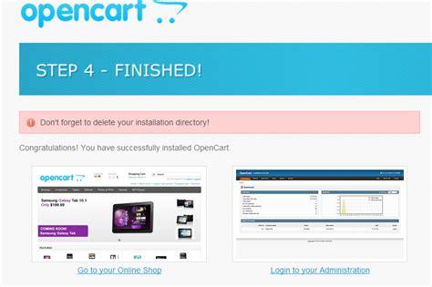 membuat artikel di opencart install opencart di komputer lokal webhozz