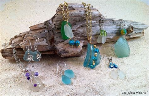 how to make jewelry out of sea glass handmade sea glass jewelry handmade jewlery bags