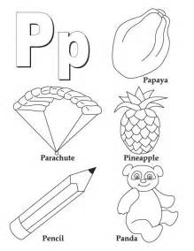 letter p coloring pages my a to z coloring book letter p coloring page