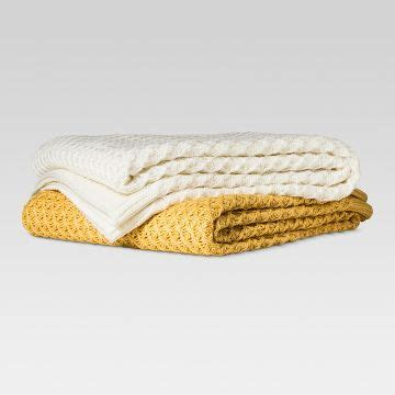 Threshold Knit Mattress Protector by Blankets Throws Target