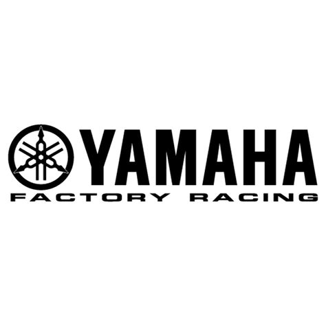 Yamaha Sticker Logo by Yamaha Factory Racing Logo Decal
