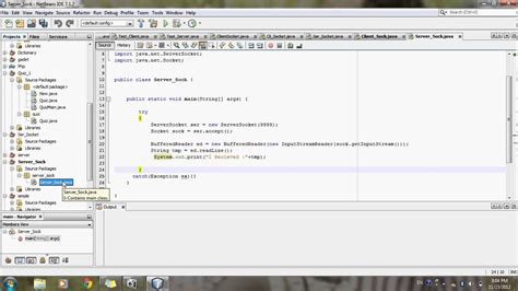 calculator program in java using swing in netbeans socket programming in java client server program in java