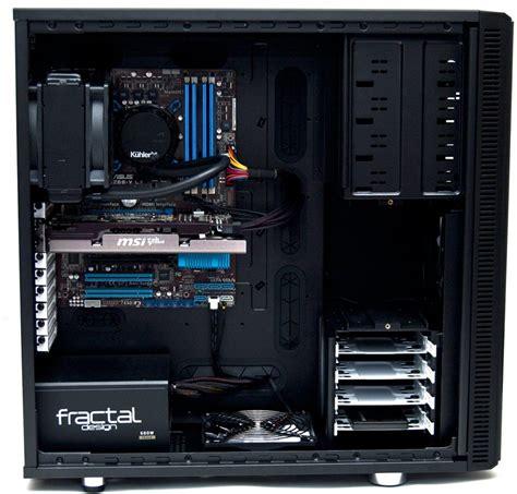 review fractal design define xl r2 fractal design define r2 xl chassis review eteknix