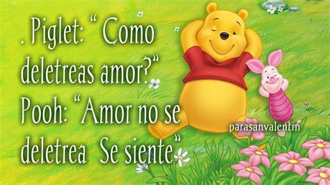 imagenes de winnie pooh con frases d amor winnie pooh im 225 genes tarjetas frases dulces y mensajes