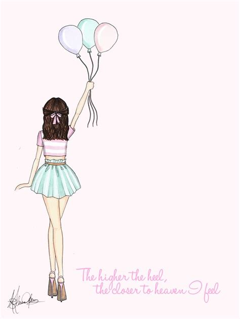 fashion illustration quotes pictures with quotes pink quotesgram