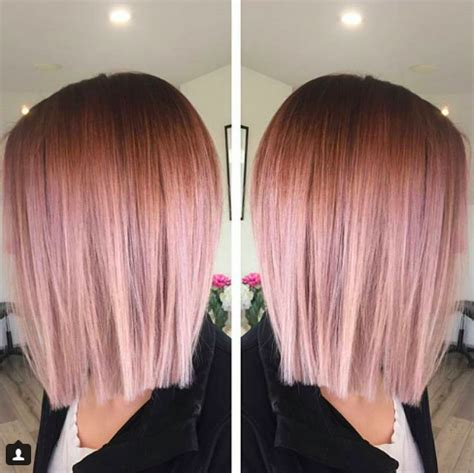 lorenzo brown hair color rose gold ombr 233 behindthechair com
