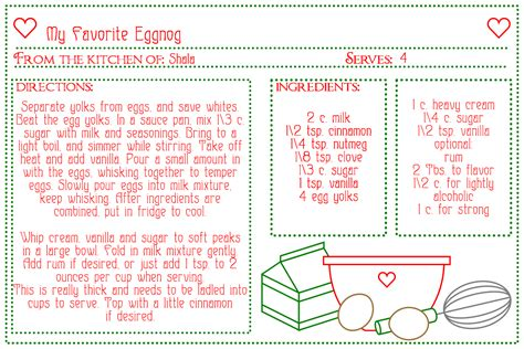 printable recipes printable recipe cards for kids www imgkid com the