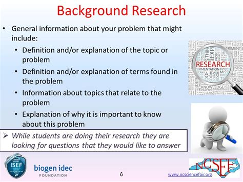 background research the process for students ppt download