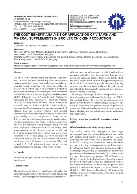 the cost benefit analysis of application pdf