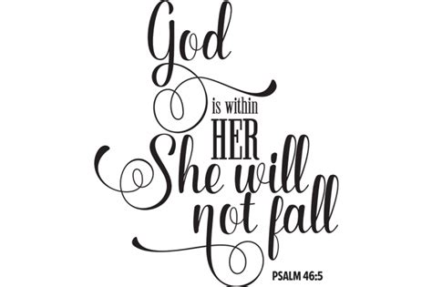 god is within her she will not fall svg by cinnamon amp lime
