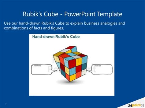 cube powerpoint template rubik s cube powerpoint template