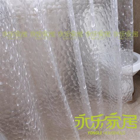 high end curtain rods high end 3d water cube environmental thick waterproof