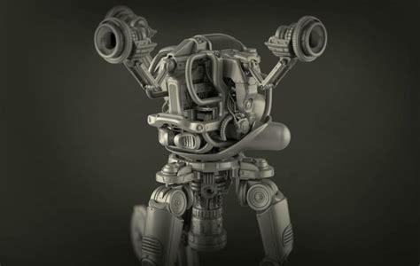 Rel Handuk fallout 4 s robot butler mister handy real using 3d