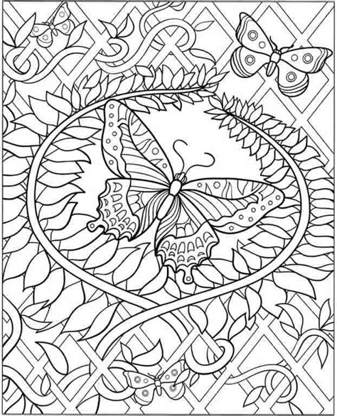 butterfly garden colouring book for adults books coloring pages freefree coloring pages for