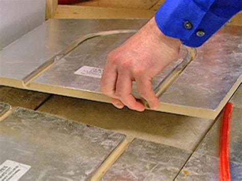 Radiant Floor Heat Panel by How To Install A Radiant Heat System Underneath Flooring