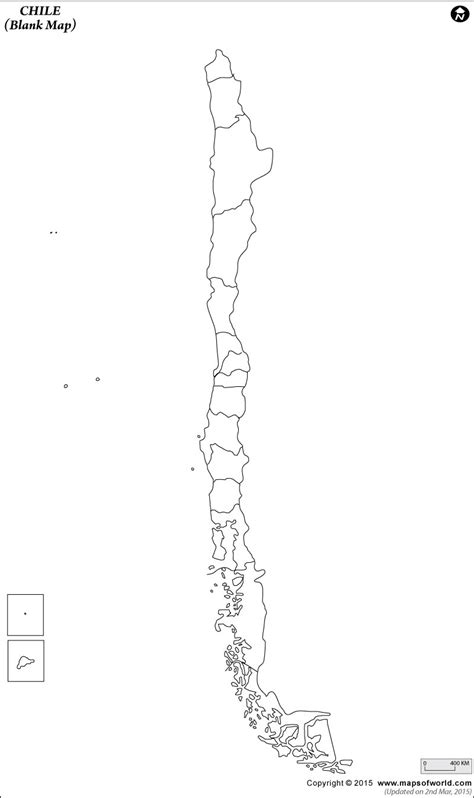 coloring page map of chile blank map of chile chile outline map