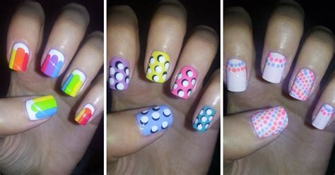 easy clean up nail art easy nail art designs for beginners step by step easy nail