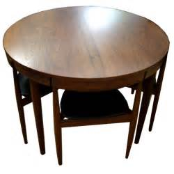 Compact Dining Tables Hans Compact Dining Set At 1stdibs