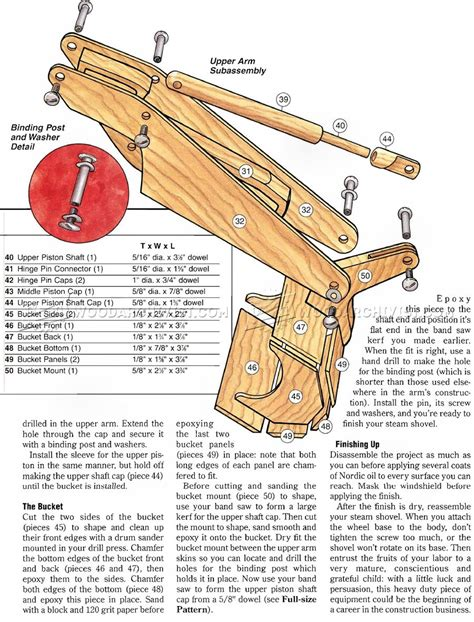 wooden boat toy plans wooden toy digger plans woodarchivist