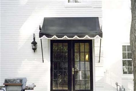 Black Awnings by Porch Light Interiors Black Awning