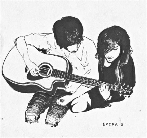 wallpaper guitar couple guitar couple by sameold on deviantart