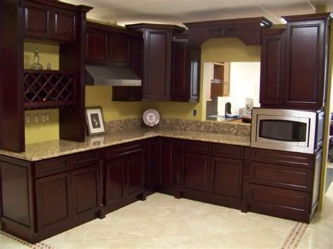 Chocolate Brown Kitchen Cabinets | chocolate brown paint kitchen cabinets kitchen