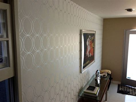 accent wall contemporary los angeles by majestic wallpaper