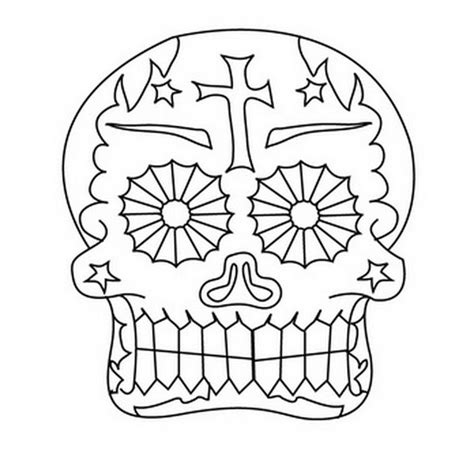 day of the dead mask coloring pages coloring pages