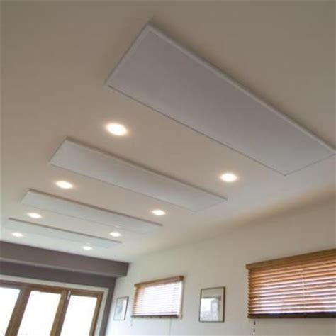 Electric Radiant Heat Ceiling Panels electric radiant ceiling heaters by heat on heating systems