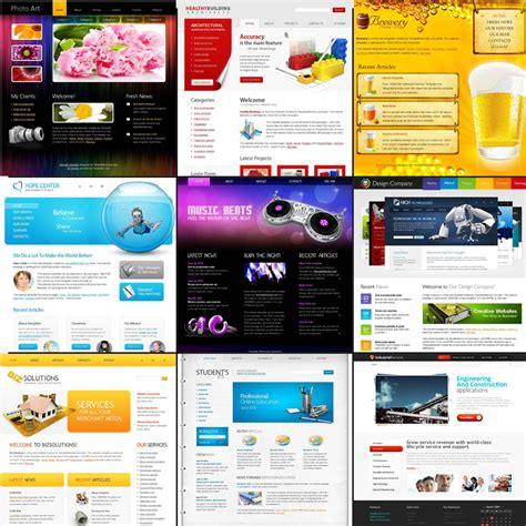 free html5 templates for books free html5 website templates bundle pack