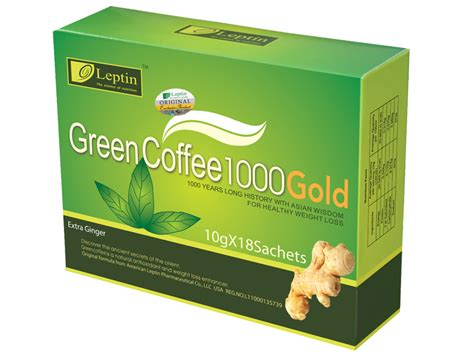 Leptin Green Coffee 1000 leptin green coffee 1000 gold with 50 units