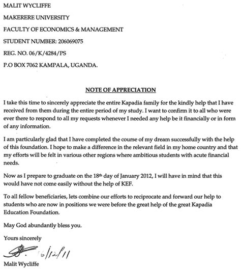 sle appreciation letter to from parent sle appreciation letter to the 28 images appreciation