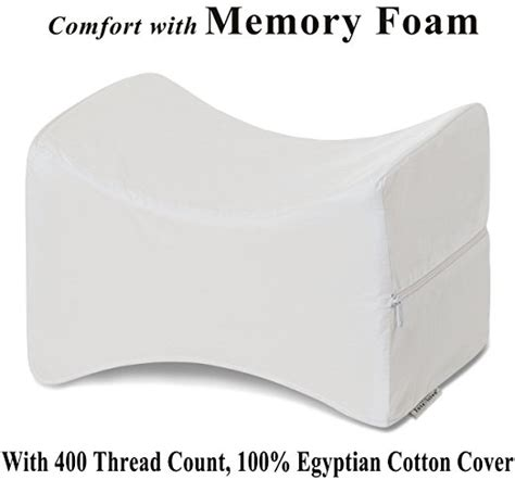 Orthopedic Pillows For Side Sleepers by Orthopedic Knee Memory Foam Wedge Pillow Relief For