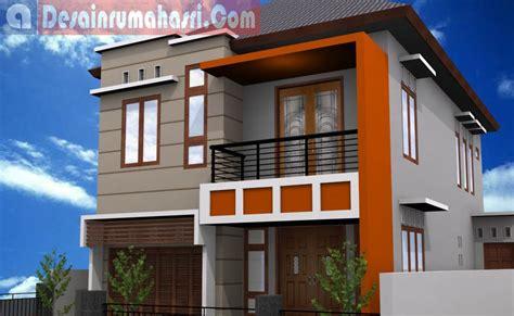 desain rumah minimalis  lantai bentuk   galgado