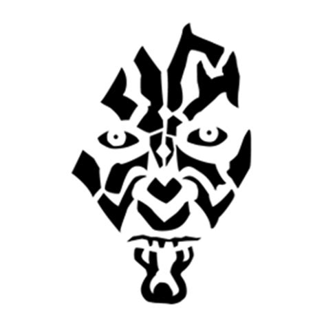 darth maul paint template darth maul stencil free stencil gallery