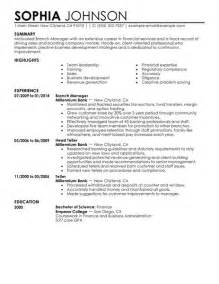 finance manager resume template basic resume templates