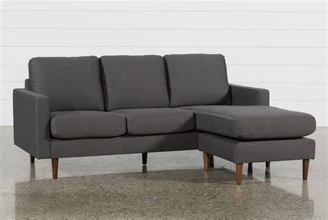 living spaces chaise sofa david grey reversible sofa chaise living spaces