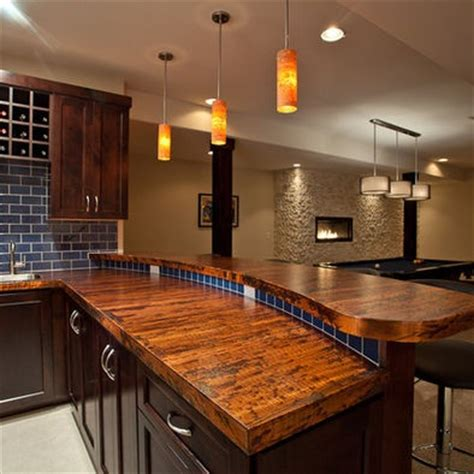 basement bar tops wood counter bar top ideas for building our home