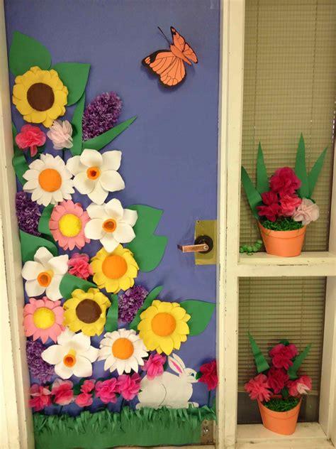 spring 2017 decorating ideas door decorations pinwheel school door spring decorating