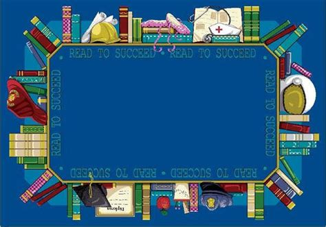 Reading Rug by Read To Succeed 169 Library Rug