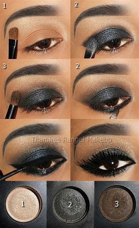 8 Steps To Springs Smoky Eye Look by 254 Best Images About American Makeup On